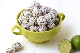 Lime Coconut Energy Bites #healthyfood #dietketo #breakfast #food