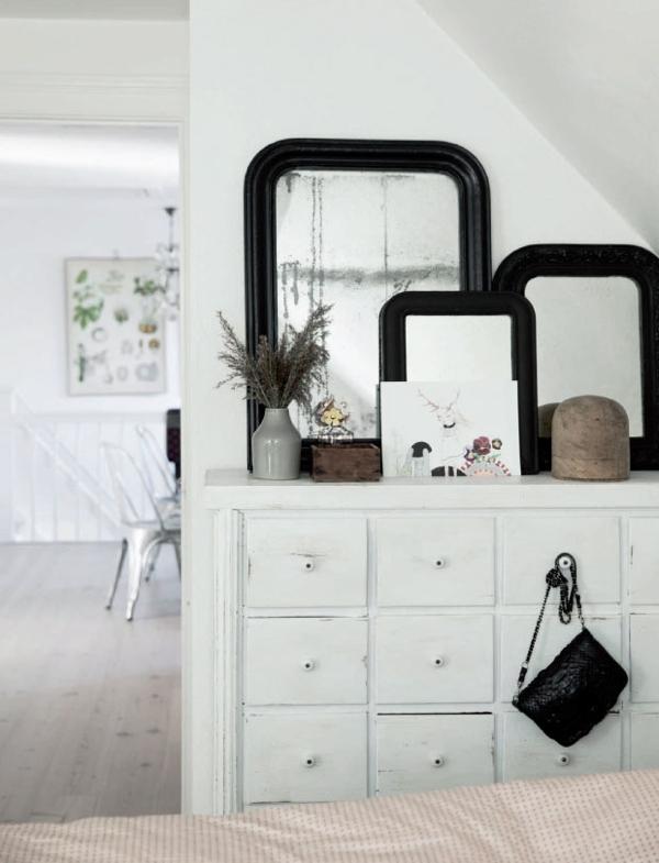 Un interior con toques color chocolate chicanddeco