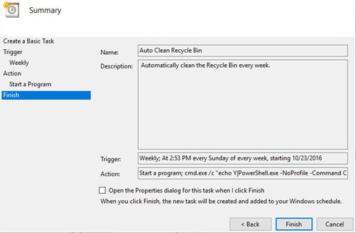 Cara Menjadwalkan Recycle Bin Secara Otomatis pada Windows - Sumekar31