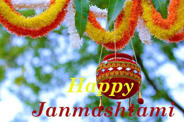 Good Morning Happy  Janmashtami