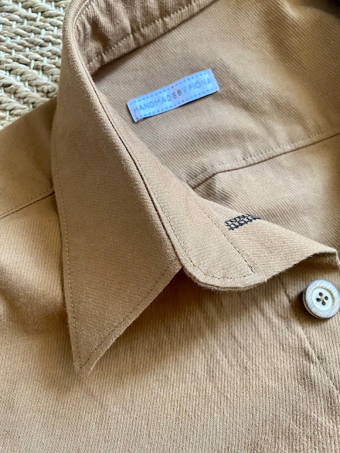 Diary of a Chain Stitcher: Caramel Twill Kim Jumpsuit Boilersuit from Sewing Basics for Every Body by Wendy Ward