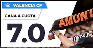 Paston Megacuota Copa del Rey: Valencia vs Zaragoza 30 noviembre