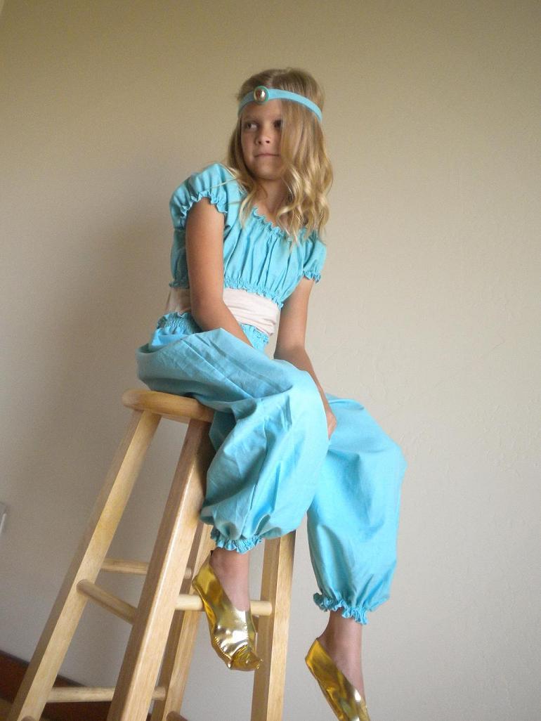 jasmine costume diy. Black Bedroom Furniture Sets. Home Design Ideas
