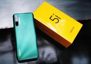 spesifikasi dan harga ponsel realme 5i