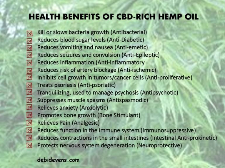 Unbelievable Health Benefits to CBD Oil Canada - The Frisky