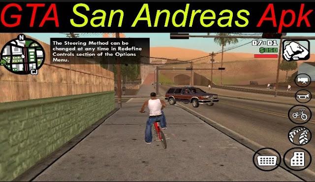 GTA: San Andreas Lite Apk + Data Obb
