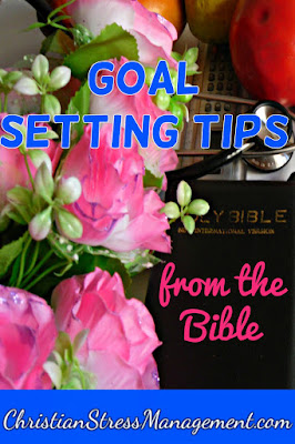 Goal setting tips from the Bible