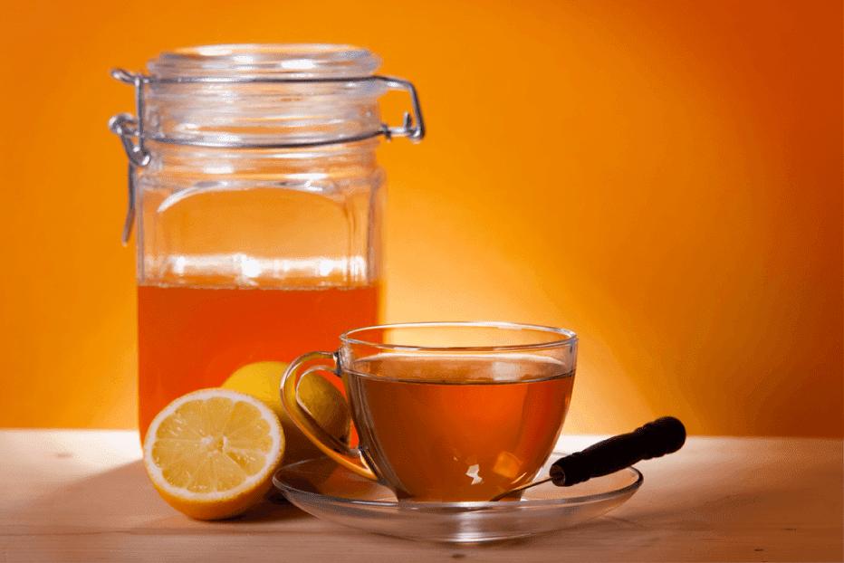 Beber Água Limão com Mel