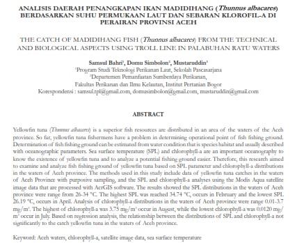Deteksi Perubahan Luasan Mangrove Menggunakan Citra Landsat Berdasarkan Metode Obia [PAPER]