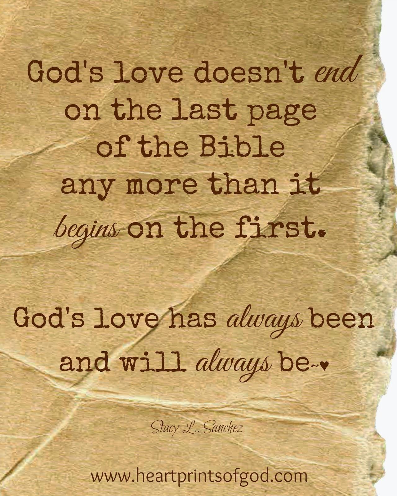Heartprints Of God: No Beginning