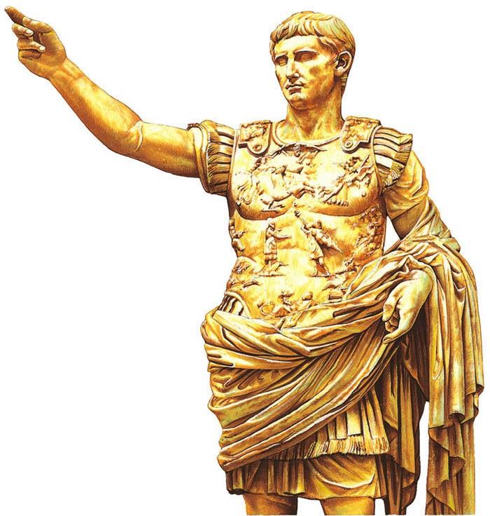 Resultado de imagen para Fotos de César Augusto, emperador romano