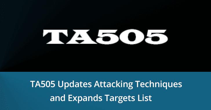 TA505 hacker group