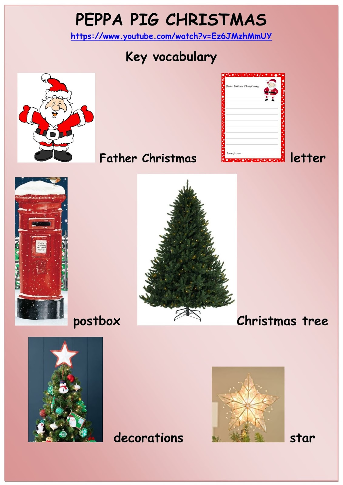 Big Esl Ideas For Small Learners Christmas With Peppa Pig