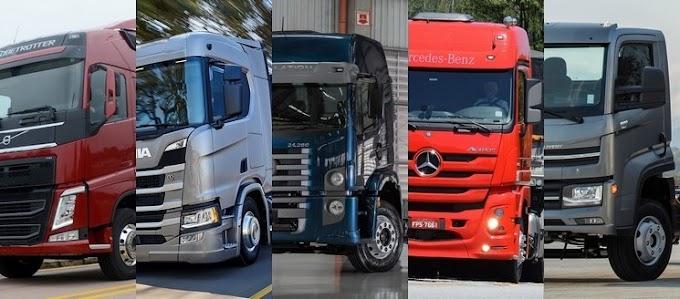 10 caminhões mais vendidos em 2020 ficam até 22% mais caros em menos de um ano