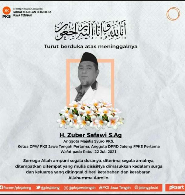 Zuber Syafawi, Hari-hari Husnuzhan Billah