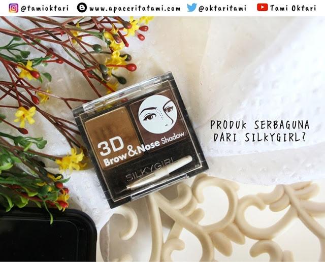 [REVIEW] Silkygirl 3D Brow & Nose Shadow 01 Dark Brown