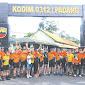 Dandim 0312/Padang Gowes Bersama Komunitas Lotex Roadbike Sumbar