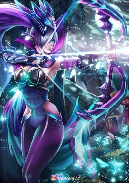 Gambar Wallpaper Hero Mobile Legends Miya