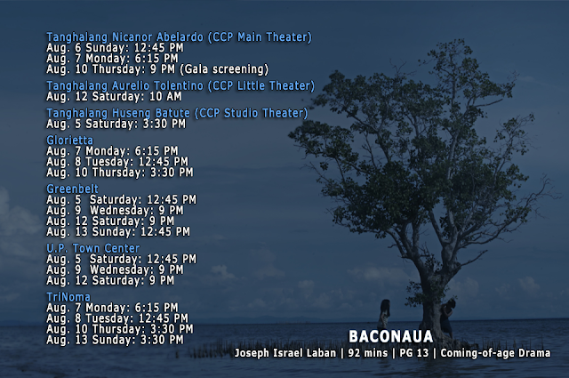BACONAUA schedule