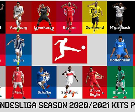 PES 2013 Bundesliga Kitpack 2020-2021