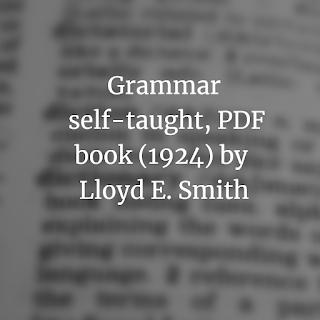 Grammar self-taught