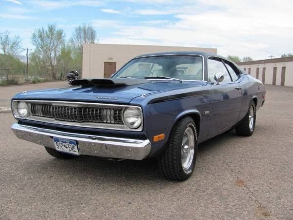 1972 Plymouth Duster Classic Muscle Buy American Muscle Car