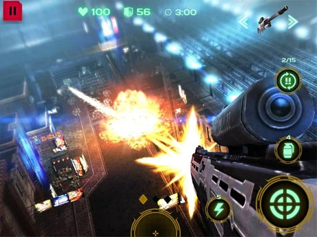 Dead Earth Sci-fi FPS Shooter Terbaru Mod Unlimited Defense