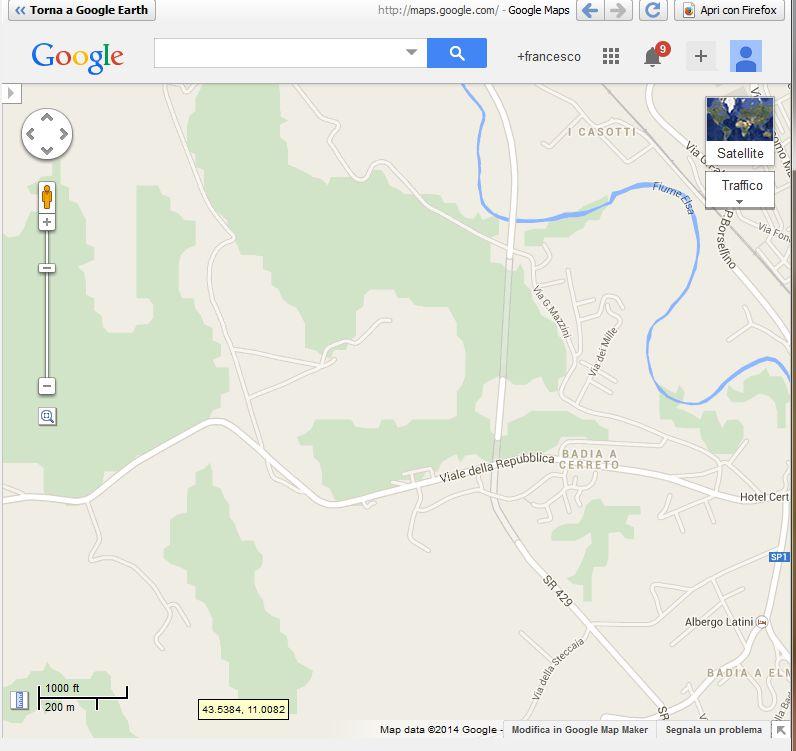 Per Antiqua Itinera: Cambiare Veste A Google Earth