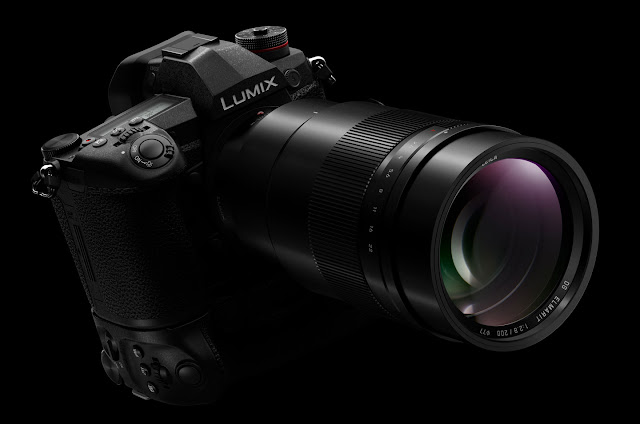 The Panasonic Lumix G9 with the new Leica DG Elmarit 200mm f/2.8 telephoto lens