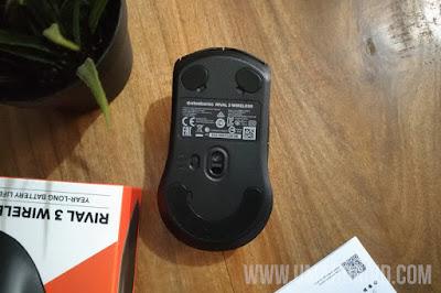 Performa Sensor Steelseries Rival 3 Wireless