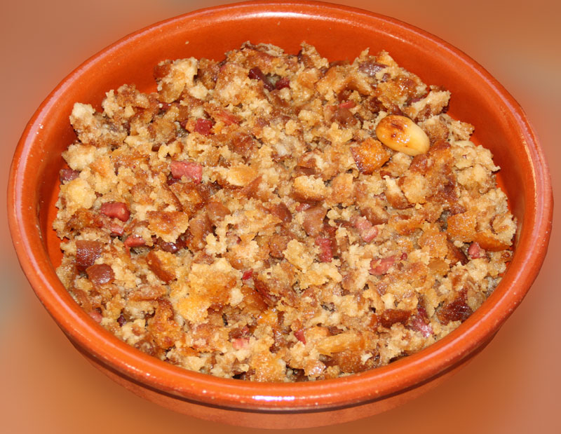Hoy cocino yo: Migas con jamón de Teruel