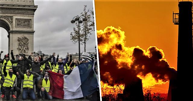 Η Συμφωνία του Παρισιού ξεσήκωσε τα «κίτρινα γιλέκα»