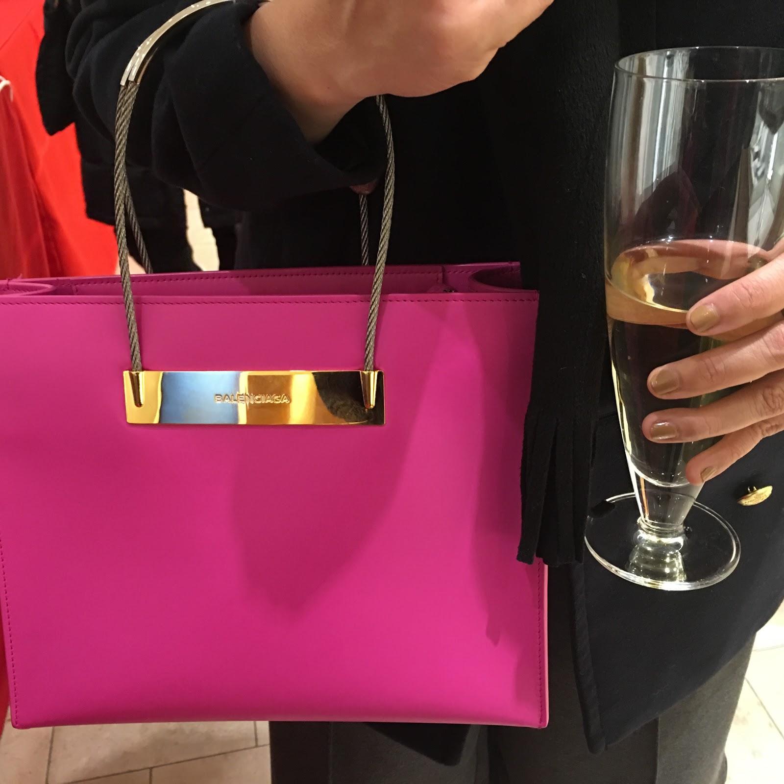 pink balenciaga le dix bag