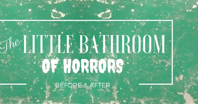 Chez Nous N 176 21 Little Bathroom Of Horrors