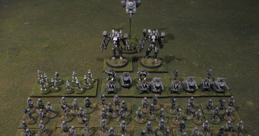 15mm Alien Squad Leader Army - Mechanoids