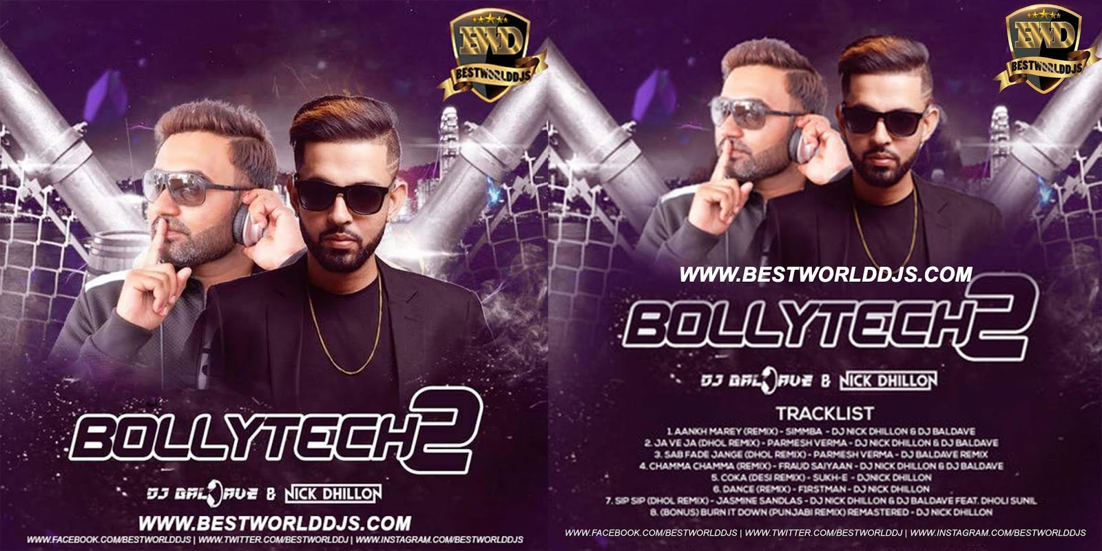 BOLLYTECH VOL 2 DJ NICK DHILLON DJ BALDAVE