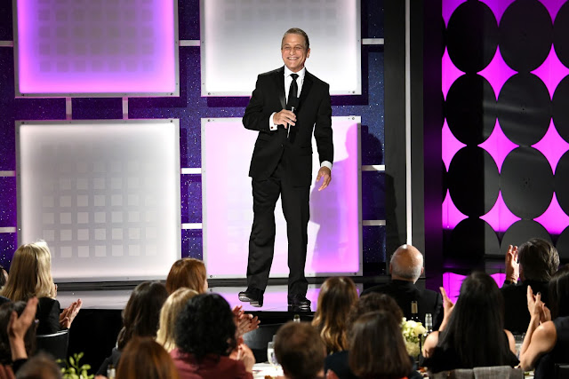 Host Tony Danza speaks onstage during AARP The Magazine's 19th Annual Movies For Grownups Awards at Beverly Wilshire, A Four Seasons Hotel on January 11, 2020 in Beverly Hills, California.