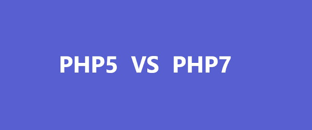 What is the difference between PHP 5 and PHP 7