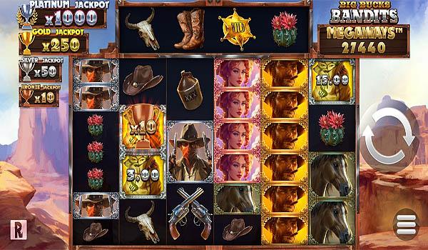 Main Gratis Slot Indonesia - Big Bucks Bandits Megaways ReelPlay