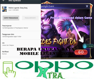 Berapa Ukuran Data Mobile Legend 2020