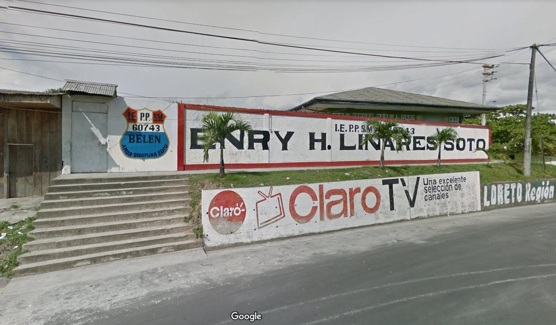 Escuela 60743 ENRY HERVE LINARES SOTO - Belén