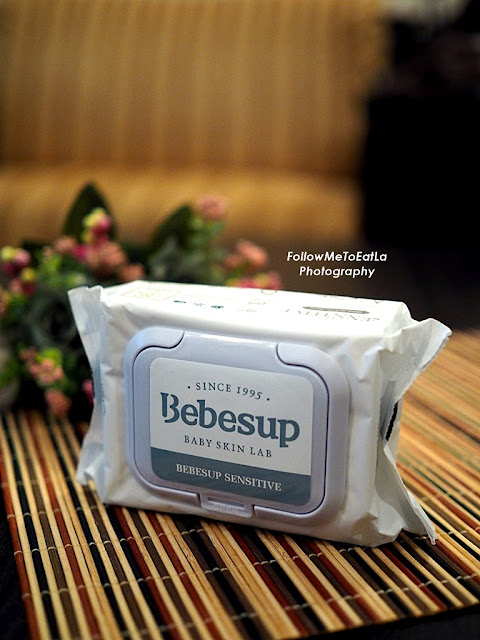 Bebesup Sensitive Wet Wipes