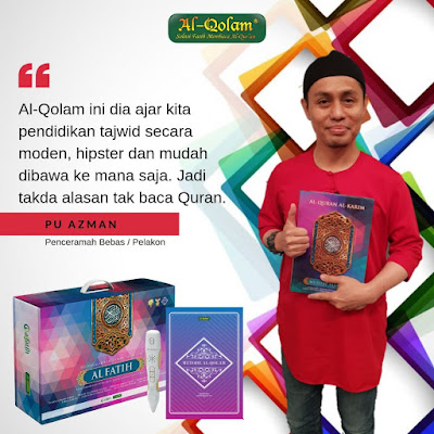 review al quran digital mushaf al fatih PU Azman