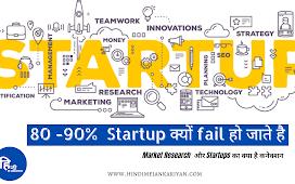 Market Research  और Startups का क्या है कनेक्शन : 80 -90%  Startup क्यों fail हो जाते है | Hindi me jankariyan