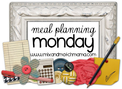 Meal Planning Monday #89