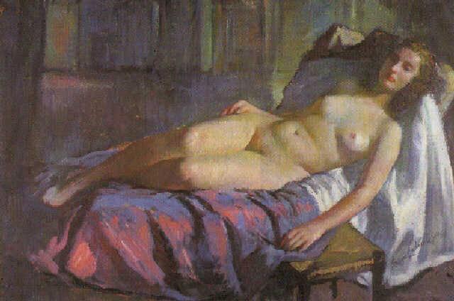 Genaro Lahuerta López, Il nude in arte, Artistic Nude