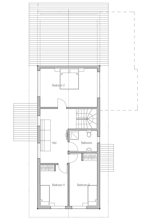 Affordable Home Plans: Economical House CH14