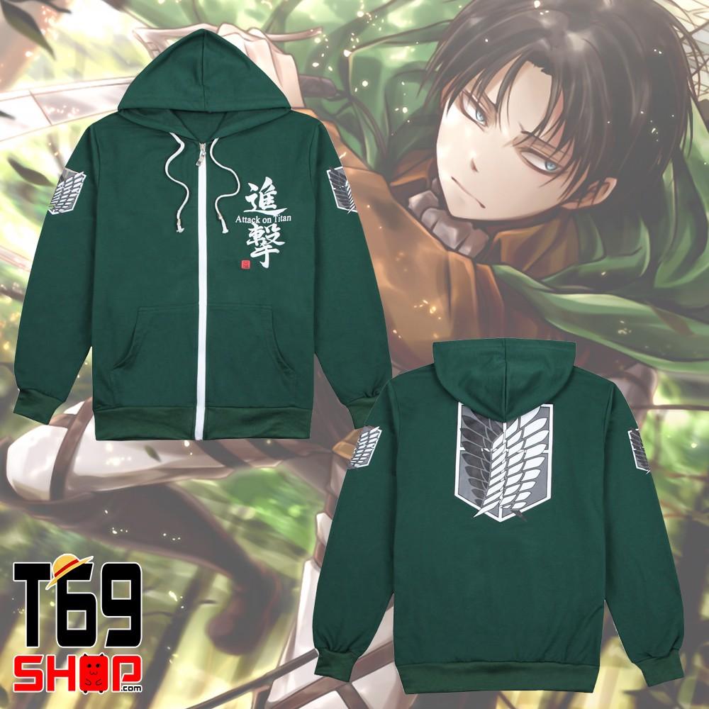Mẫu áo khoác in Anime - Hình 1