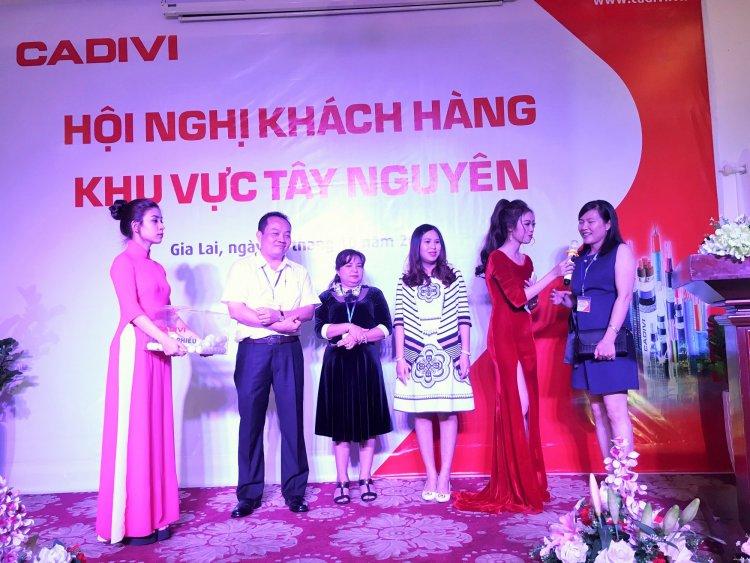 Cadivi tổ chức hội nghị khách hàng tại Gia Lai 2018