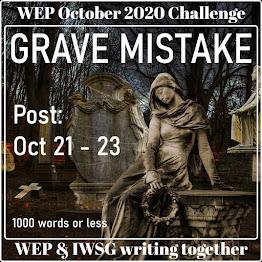 WEP+IWSG October 2020 Challenge!